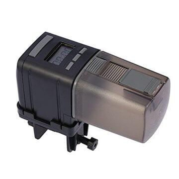 anself fisch futterautomat mit lcd display f r aquarium futterautomat. Black Bedroom Furniture Sets. Home Design Ideas