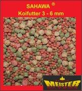 Koifutter 3 -6 mm 5 Sorten Spezialmischung 10 Liter Beutel - 1