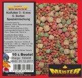 SAHAWA® 46110 Koifutter 3 -6 mm 5 Sorten Spezialmischung 10 Liter Beutel ,Teichfutter, Fischfutter,Gartenteich (10 Liter Beutel) - 1