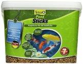 Tetra Pond Sticks (Hauptfutter für alle Gartenteichfische in Form von schwimmfähigen Sticks), 7 Liter Eimer - 1