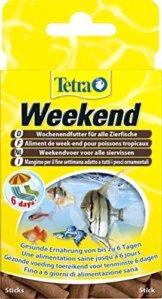 TetraMin Weekend Wochenendfutter (kompakte Futtersticks für die Versorgung aller Zierfische am Wochenende bzw. Über Zeitraum der Abwesenheit bis zu 6 Tagen), 20 Stück - 1